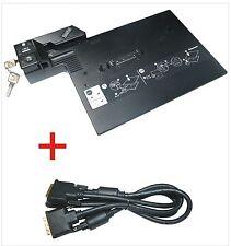 Lenovo IBM Dockingstation Typ 2504 mit DVI-D für ThinkPad T400 mit Schlüssel