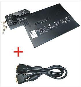 IBM-Lenovo-DOCKING-STATION-tipo-2504-con-DVI-D-per-Thinkpad-t400-con-chiave