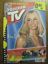 PROGRAM TV 17 (21/4/2000) BRITNEY SPEARS JAMES BOND