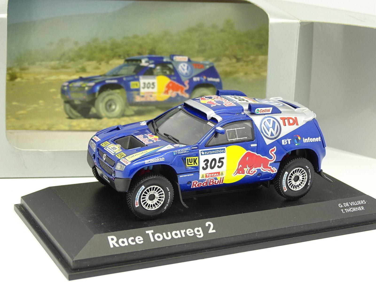 Norev 1 43 - VW Race touareg 2 Dakar 2006