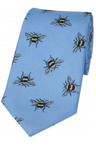 Bumble Bee Silk Luxury Tie Wildlife Gift