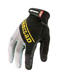Ironclad-Black-Men-039-s-Medium-Silicone-Fused-Work-Gloves