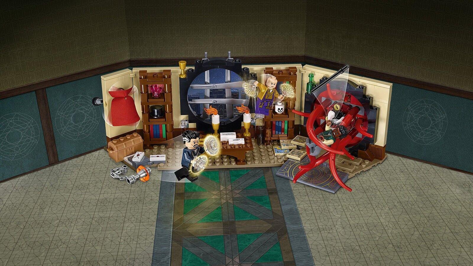 LEGO 76060 Super Super Super Doctor Strange's Sanctum Sanctorum Building Set 9c12be