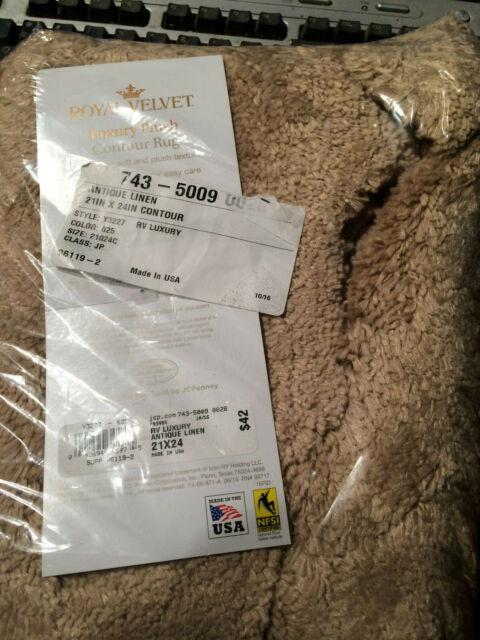 Bath Rug Royal Velvet Luxury Plush 6x10