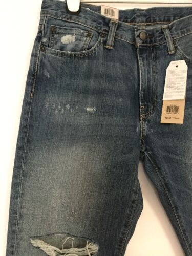 L32 Levi's W32 Fit gamba Medium Jeans a Tab Athletic dritta Rosso 541 Wash 7Tpw7gq