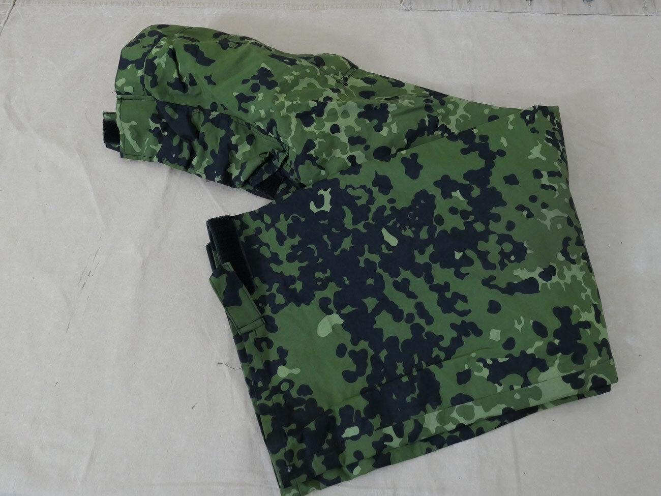 740 TG S-Danimarca GORE-TEX Protezione umidità Pantaloni FLECKTARN HMAK 2000 Pantaloni Pioggia