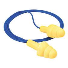 3m 340 4014 Corded Ear Plug 25db Rated Reusable Flanged Shape