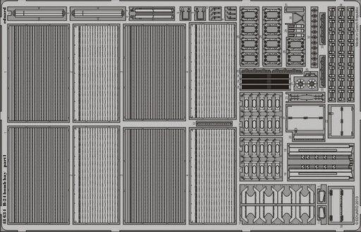 Eduard 1  48 B -24 Bomb Bay för Monogram och Revell -kit