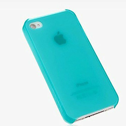 Belkin Essential 025 Soft Touch Case for iPhone 4 / 4S Blue Model: F8Z847qeC01