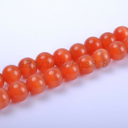 12 mm 10 mm Cat Eye Gemstone Round Loose Charms Spacer Beads-Choisir 4 mm 6 mm 8 mm