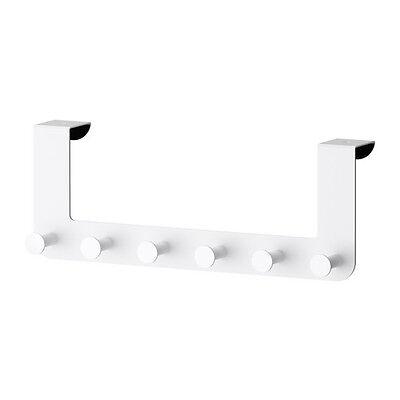 Ikea Enudden Over Door Hanger Six Knobs Hooks Bathroom Bedroom White NEW