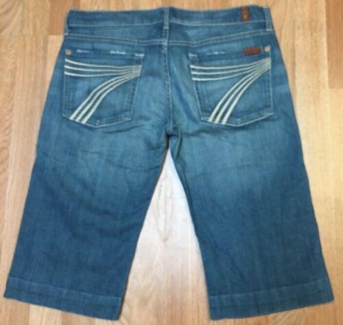 31 For 7 Size Seven Mankind 31 Jeans Denim 7 Denim All Donna Crop Dojo All Women's Taglia Dojo Mankind Crop For Seven Jeans 5ppvnqW1x