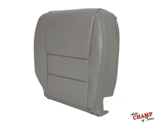 2003-2007 Honda Accord 4-DR EX SE LX-Driver Side Bottom Leather Seat Cover Gray