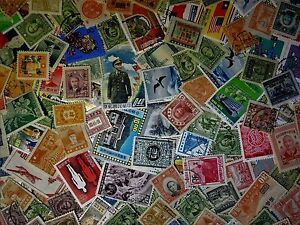 15-Different-CHINA-Stamps-from-Large-Estate-Hoard-Worldwide-Stamp-Lot-Collection