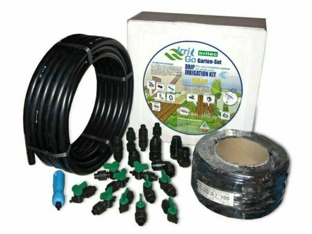 Bewässerungsset für 150m² IrriGo Bewässerungs-Set Garten-Set irritec