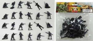AIRFIX-RECAST-WWII-GERMAN-Toy-Soldiers-24-Infantry-Paratroopers-1-32-FREE-SHIP