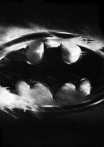 Image Is Loading Batman Dark Knight Logo Large Poster Art Print