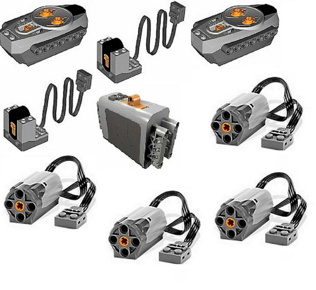 Lego Power Functions 8043  42030 Motor + Empfänger Receiver 9V Power Functions