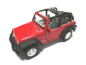 Jeep-Rubicon-rojo-maqueta-de-coche-metal-DIECAST-11-CM-Welly-Nex-Model