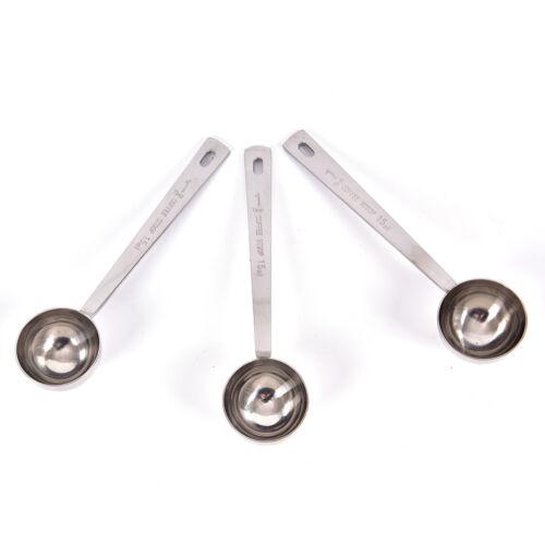 Coffee Measure Spoon Tablespoon Stainless Steel Scoop Coffee Tea Baking Sugar CA