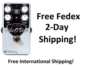 New Keeley Vibe-O-Verb Reverb Guitar Effects Pedals