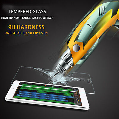 Tempered Glass Screen Protector Film Guard for Apple iPad Air 2 1