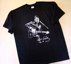 T-Shirt  Evis Presley Original 68 Spezial mit Gitarre -  NEU