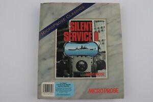 Silent Service II - Micro Prose- Big Box PC Game