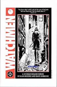 rorschach watchmen original promo poster art print alan moore 1988