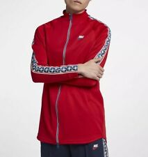 """6f6dc487 item 6 Nike NSW 'N' Taped Men's Track Jacket AJ2681-657 Red Size XXL Chest  56"""" New -Nike NSW 'N' Taped Men's Track Jacket AJ2681-657 Red Size XXL  Chest 56"""" ..."""