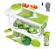 thumbnail 10 - Vegetable Chopper Dicer Onion Food Chopper Fruit Dicer Cutter Veggie Slicer Hot