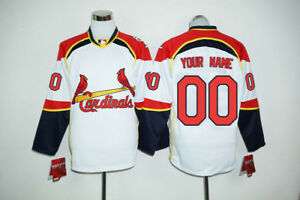 new arrival 05ab3 a0dce Details about Brand New NHL MLB St.Louis Cardinals Hockey Jersey. Any name  & number you want