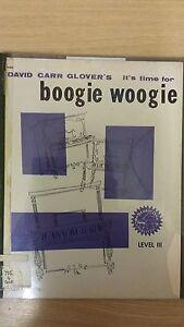 DernièRe Collection De Il Est Temps Pour Boogie Woogie: Glover: Niveau 3: Musique (e2)-afficher Le Titre D'origine