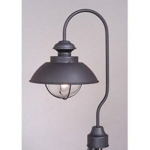 New 1 light nautical outdoor post lamp lighting fixture for 59 victorian lighted black lamp post christmas decoration