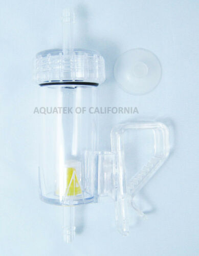 NEW AQAUTEK Bubble Counter with Integrated Check Valve