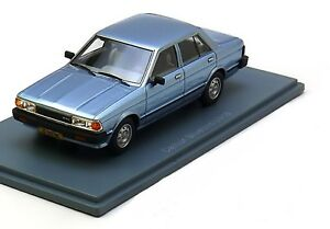 DATSUN-BLUEBIRD-U910-1-8-GL-VERSION-1-LIGHT-BLUE-METAL-1979-NEO-44500-1-43-RESIN