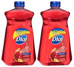 Dial Antibacterial Liquid Hand Soap Refill Pomegranate