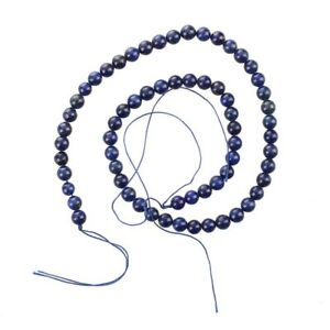 4X-Round-Gemstone-Blue-Lapis-Lazuli-Loose-Beads-6mm-Strand-HOT-C1X9