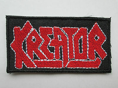 KREATOR  LOGO SEW ON IRON ON PATCH