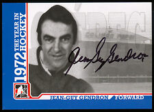 ITG 1972 THE YEAR IN HOCKEY WHA AUTO AUTOGRAPH JEAN GUY GENDRON QUEBEC NORDIQUES