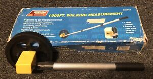 1000FT-Walking-Tape-4-Digit-Counter-Survey-Measuring-Wheel-20001