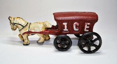"""Leale Antica Ghisa Ferro Ice Cavallo Driven 7 """" Carro"""