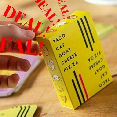 Family Party Board Card Game for Kids Adults Gift Taco Cat Goat Cheese Pizza