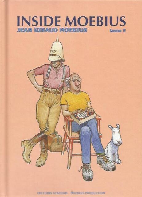 Jean Giraud Inside Moebius T.5 édition originale Stardom