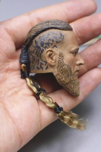 Custom 1//6 Viking Captain Head Sculpt w// PHICEN M33 Seamless Muscular Male Body
