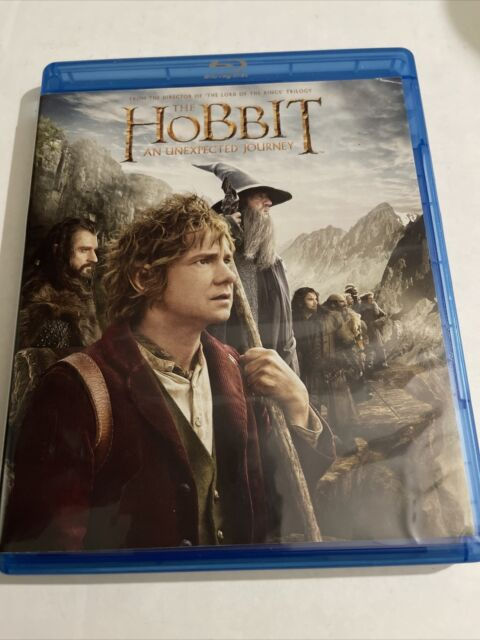 The Hobbit: An Unexpected Journey (Blu-ray & DVD) 3 disc set