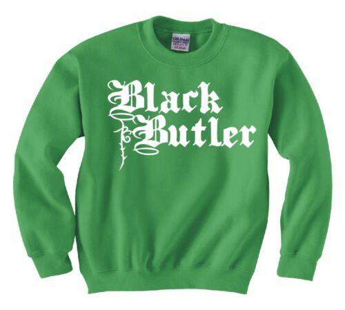 """BLACK BUTLER /""""LOGO/"""" ANIME COSPLAY SWEATSHIRT NEW MANGA"""