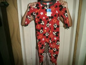 CLOSEOUT-SALE-Imported-FROM-USA-Disney-Mickey-Mouse-Sleepwear-2T