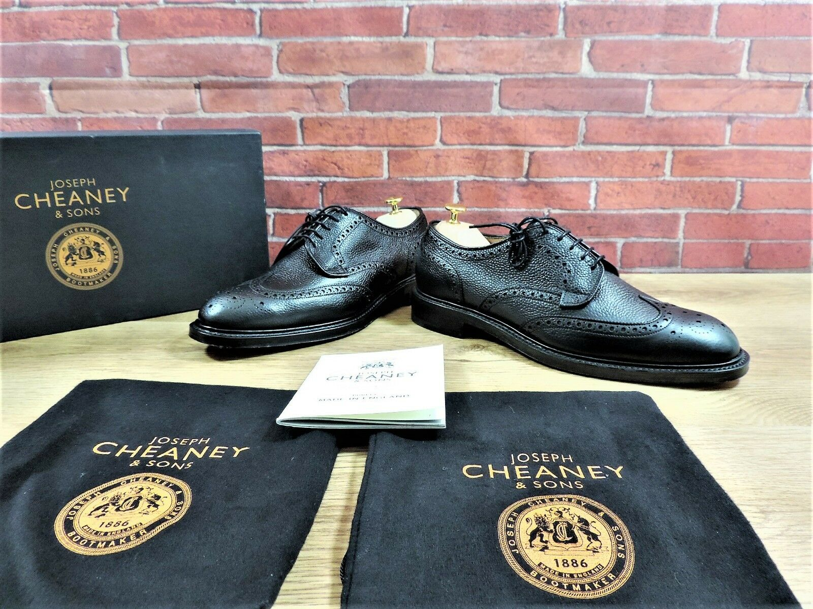 New Church's Cheaney Full Brogues UK 11 US 12 EU 45 F Double Sole RPP