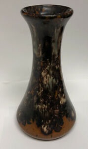 California Pottery Drip Glaze Mid Century Modern Vase